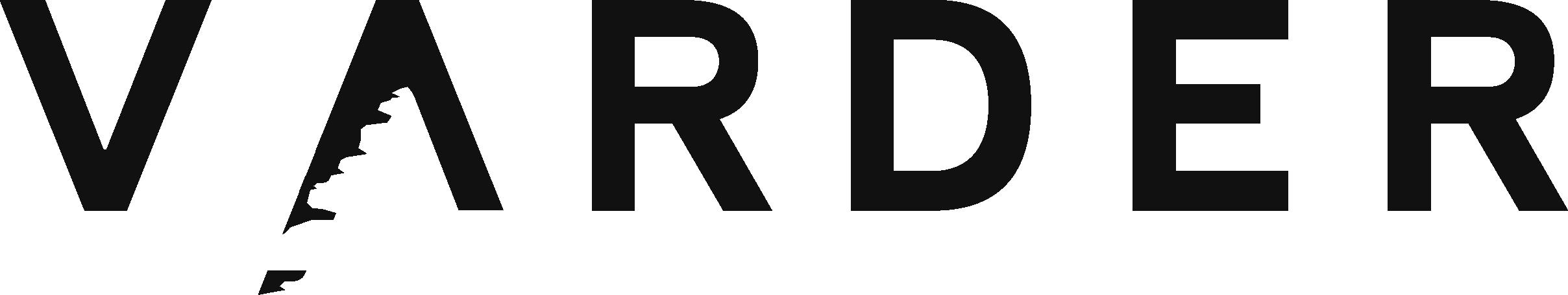 Varder logo sort
